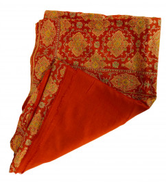 Pure Pashmina Shawl Heavy Jaal 40X80 Inch