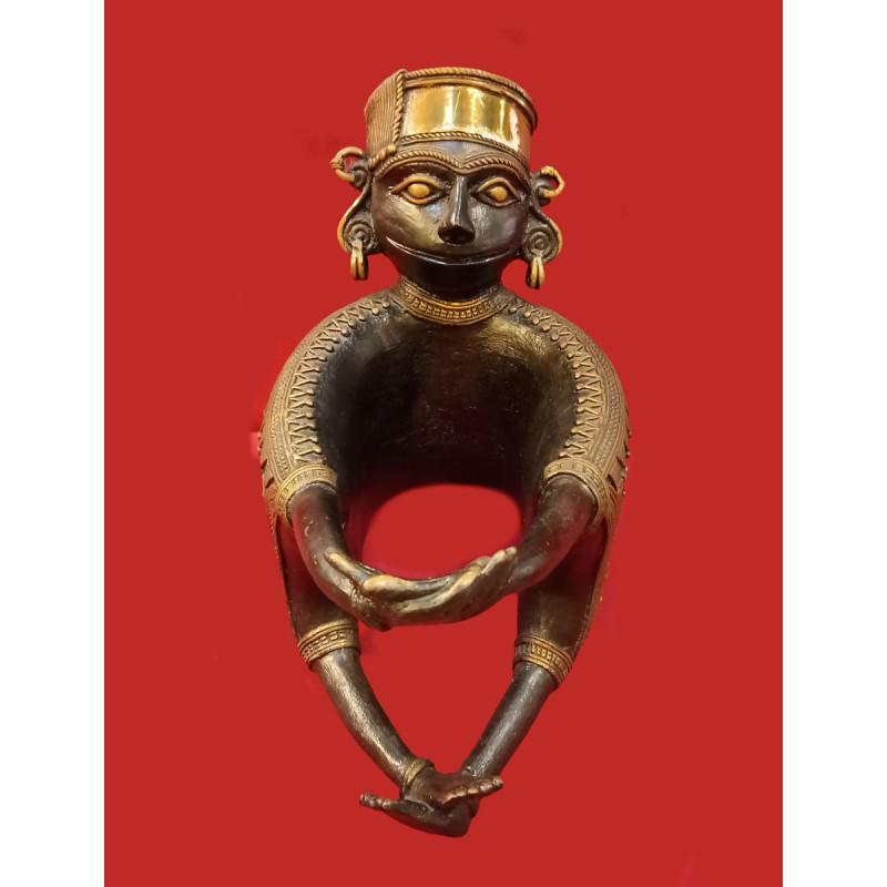 Dhokra figure 9 inch