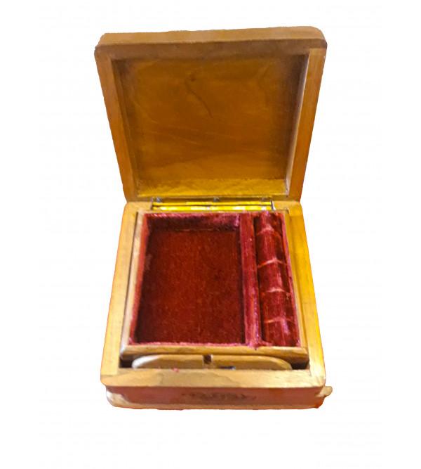 BOX WALNUT WOOD 6 X 6 INCH