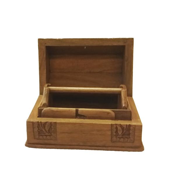 BANGAL BOX WALNUT POSHKAR 6x4
