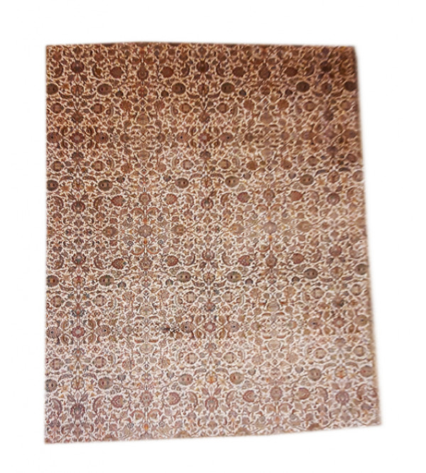 Carpet Hand-knotted Silk x Silk Size 8ftx11ft
