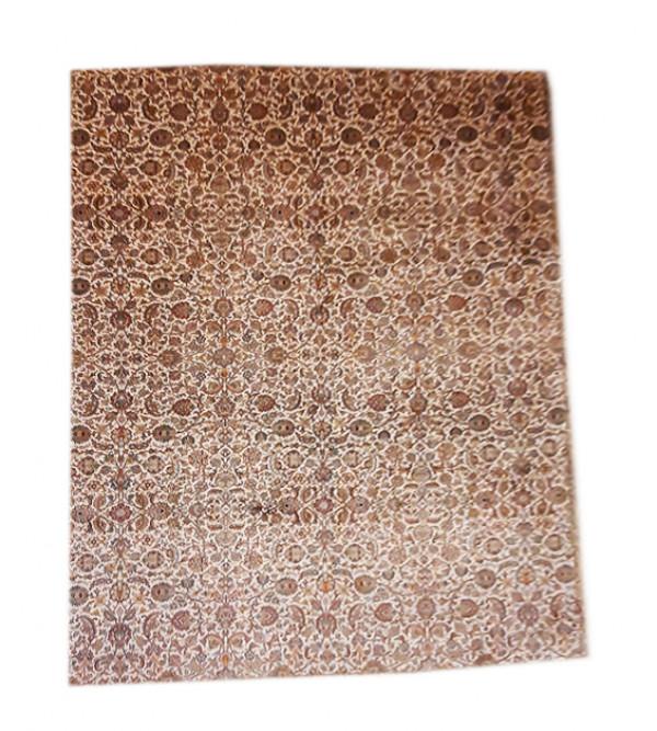 Kashmir Carpet Hand-knotted Silk x Silk Size 8ftx11ft