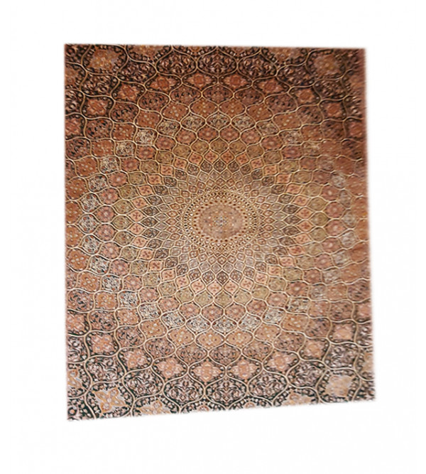 Carpet Hand-knotted Silk x Silk Size 9ftx12ft
