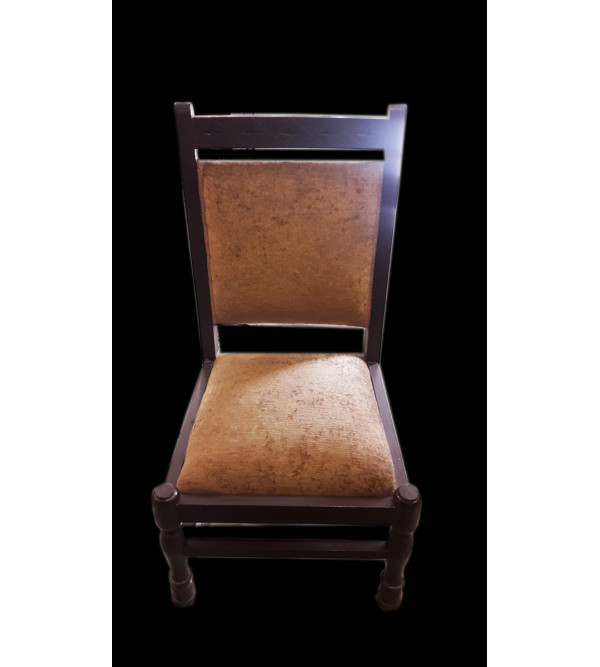 FOLK CHAIR SHEESHAM WOOD S-18x18x32 inch.