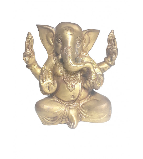 Appu Ganesha Handcrafted In Brass