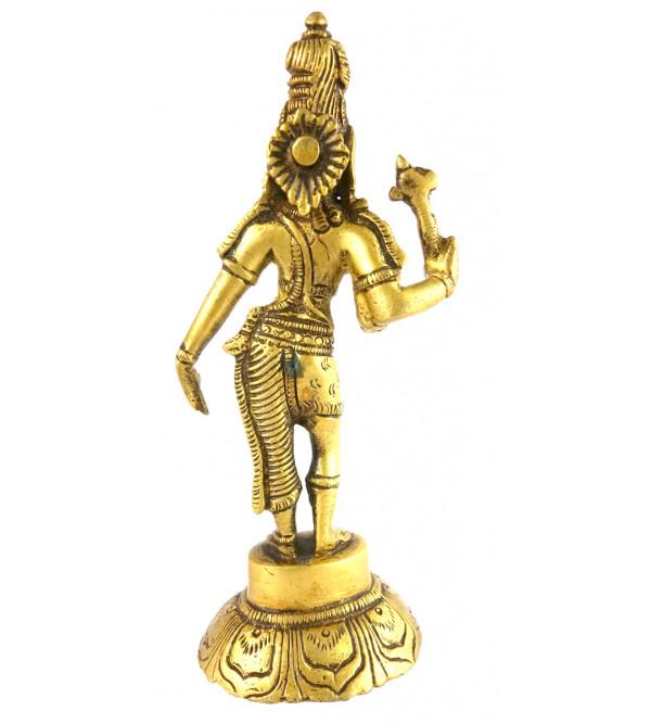 HANDICRAFT BRASS Ardhnarishwar 6 INCH