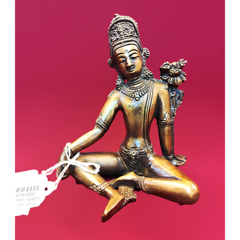 Inder Handcrafted In Brass Size 5.5 Inches
