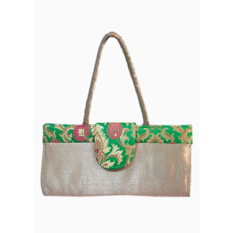 Evening bag silk