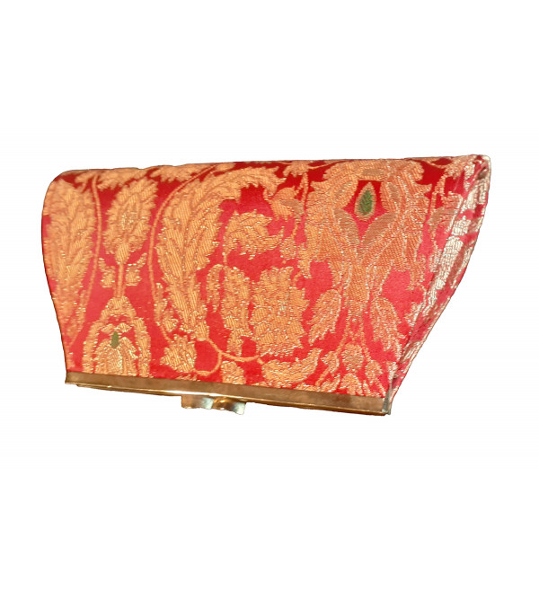 CCIC Brocade Frame Bag With Assorted Designs And Colors Size 7x5 Inch
