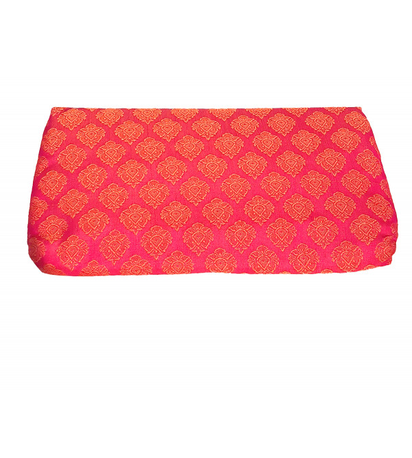 CCIC Silk Clutch Bags With Assorted Designs and Colors Size 10x6 Inch