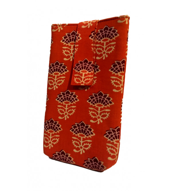 CCIC Cotton Mobile Case With Assorted Colors and Designs Size 7x4 Inch
