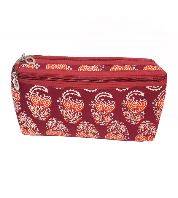 CCIC Toilet Bag With Assorted Designs and Colors Size 9.5X6 Inch