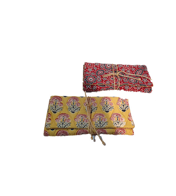 CCIC Cotton Jew Roll With Assorted Colors and Designs Size 7x4 Inch