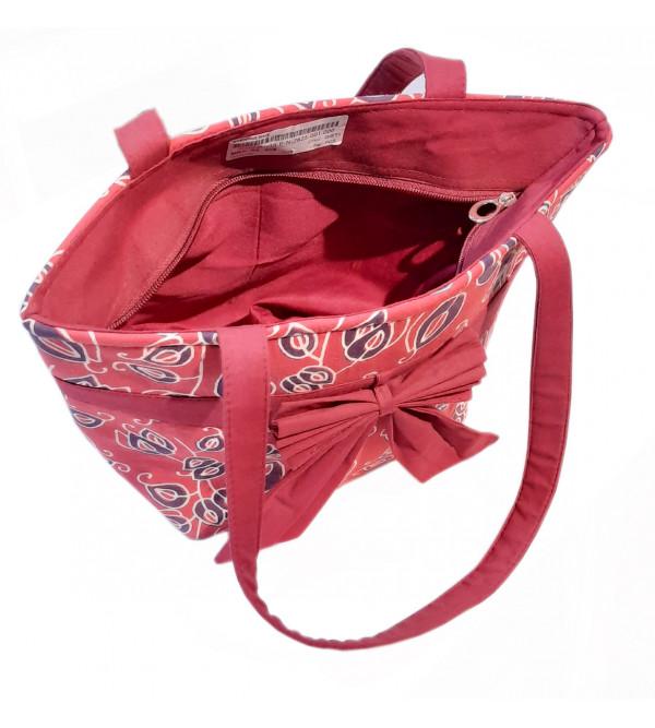 CCIC Cotton Printed Shoulder Bag Size 13x10 Inch