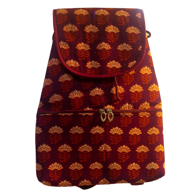 PTD Cotton Bag pack With Assorted Colors And Designs Size 18x12 Inch