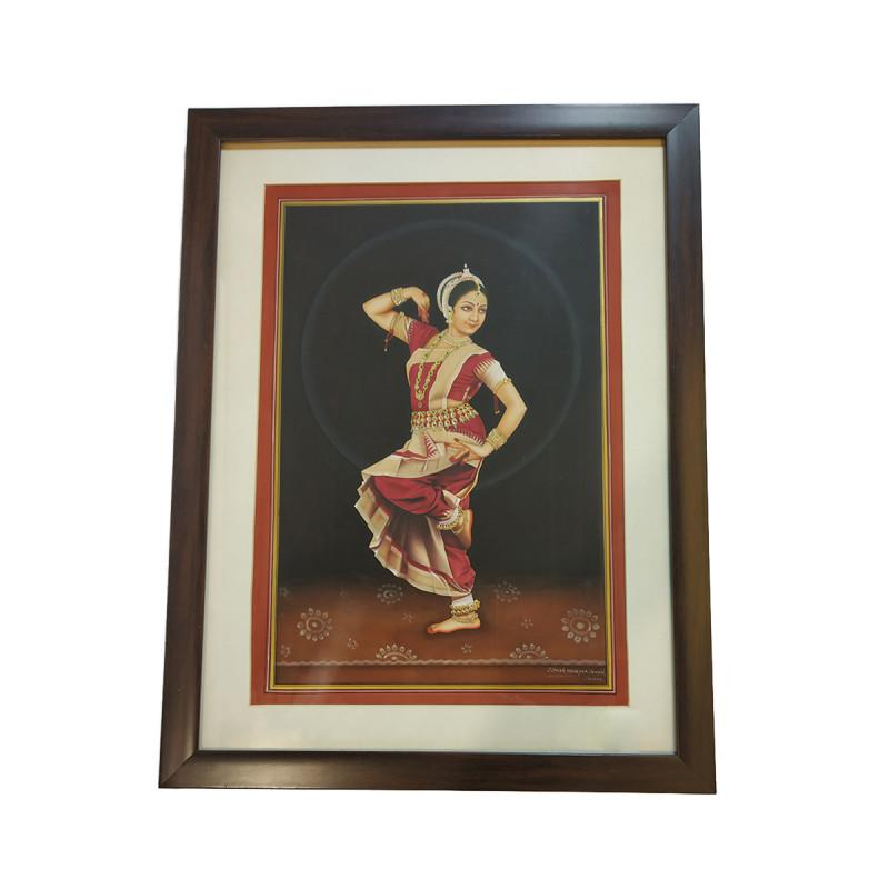 Traditional Handmade Nayika Painting