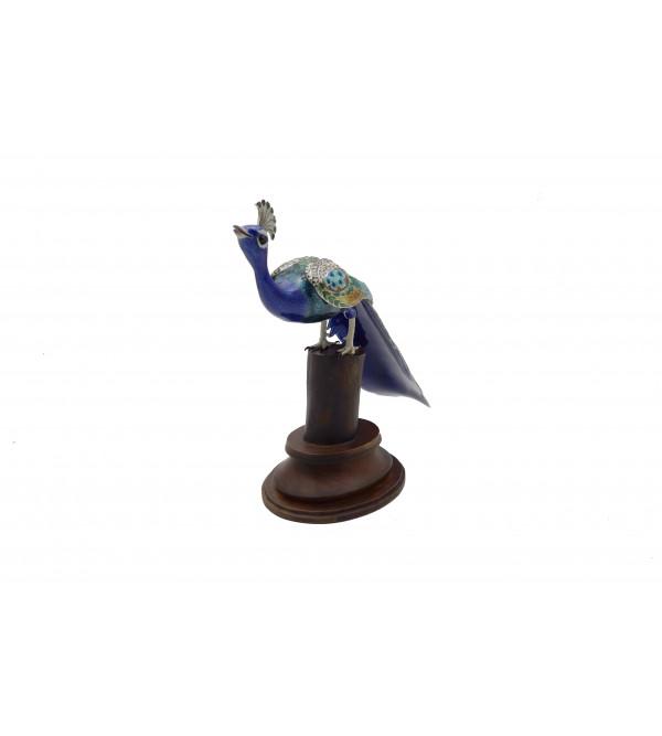 COPPER ENAMELED BIRD