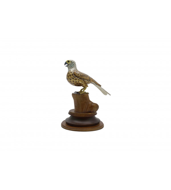 COPPER ENAMELED BIRD Falcon