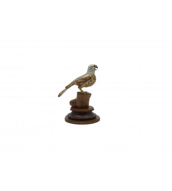COPPER ENAMELED BIRD Falcon
