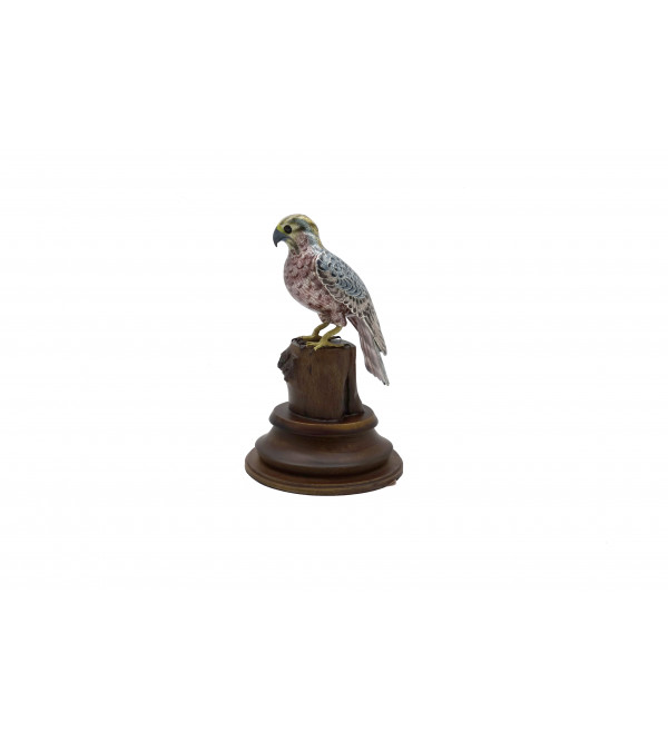 COPPER ENAMELED BIRD