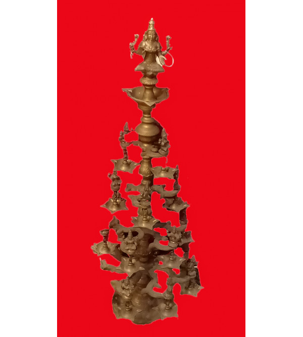 Branch Astrotham Lamp Handcrafted In Bronze