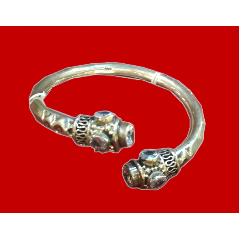 Handicraft Silver Bangle 92.5% Purity