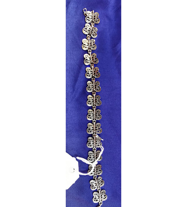 Handicraft Silver Bangle 92.5% Purity