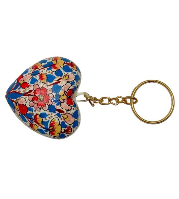 Papier Mache Key Ring