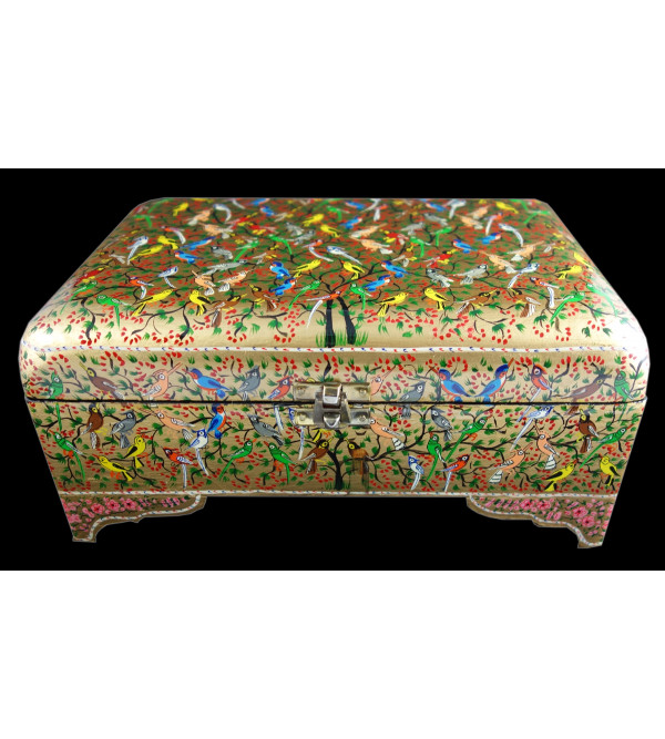JEWELRY  BOX WITH STAND (10X7 INCH) ASSORTED DESIGN