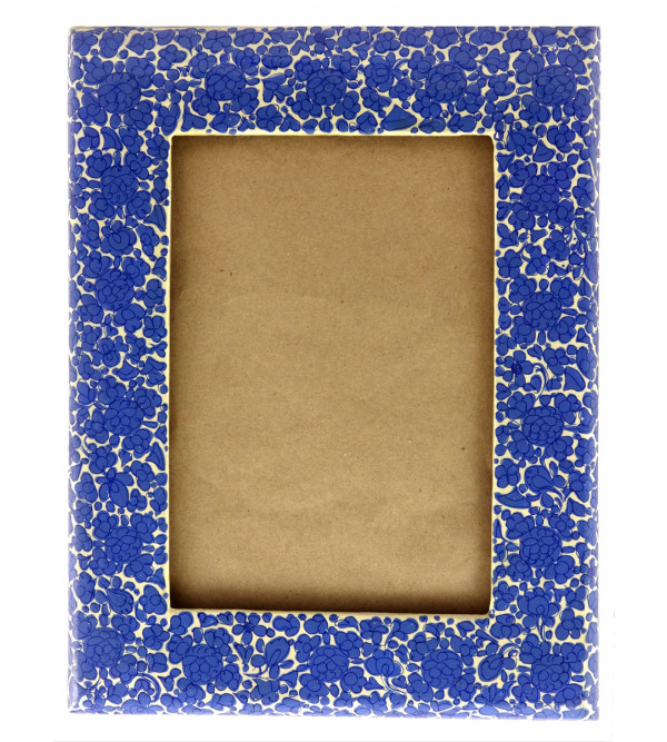 HANDICRAFT PAPER MACHIE PHOTO FRAME (6X8  INCH) ASSORTED DESIGNS