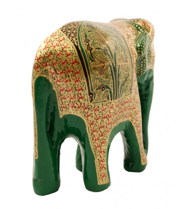 HANDICRAFT PAPER MACHIE ELEPHANT 4 INCH  ASSORTED COLOR