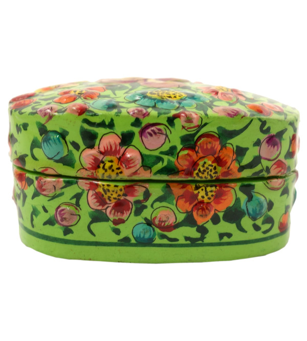 HANDICRAFT PAPER MACHIE PILL  BOX 3 INCH ASSORTED