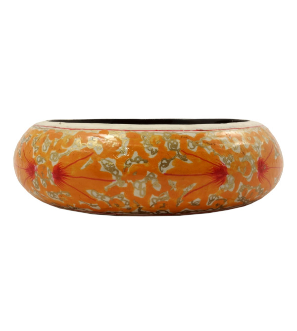HANDICRAFT PAPER MACHIE BANGLE 1 INCH ASSORTED DESIGN