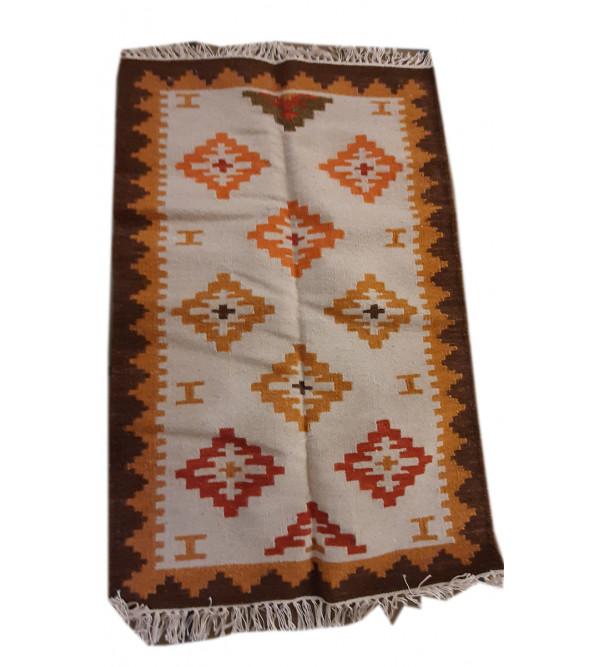 Woolen Handwoven Durries 2.5x4 ft
