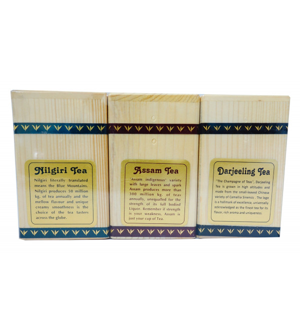 DARJEELING, ASSAM AND NILGIRI 3 in 1 (150GM) TEA