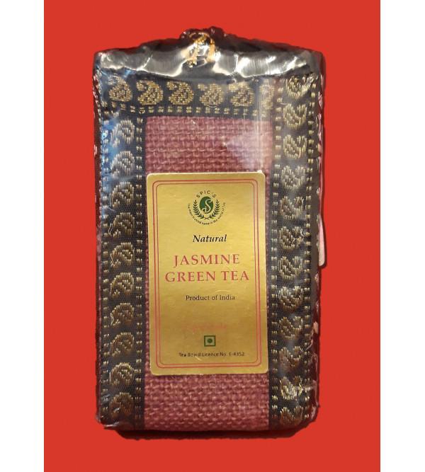 JASMINE GREEN TEA JUTE BAG 100 GM