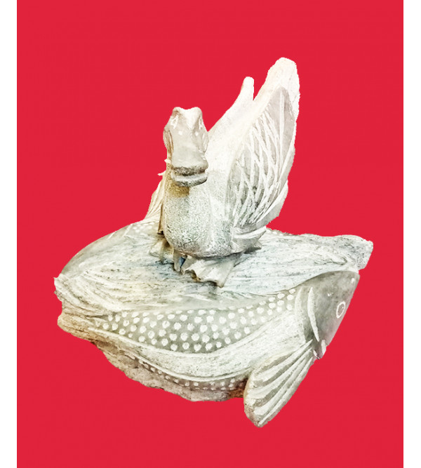 Sculpture Handcrafted In Stone Size 9 Inches