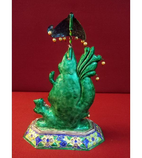 Handcrafted Gulabi Meenakari 92.5% Size 7 Inch
