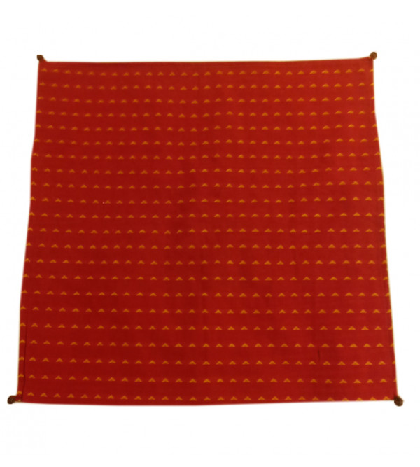 Cotton Kalamkari Hand Block Printed Cushion Cover Size 16x16 Inch