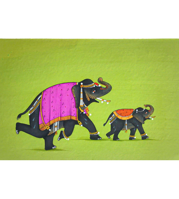 Traditional Animal Handmade Painting