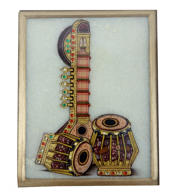 MUSICAL INSTRUMENT  PAINTING 3X4 INCH