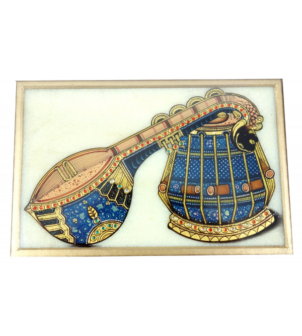 HANDICRAFT MUSICAL INSTRUMENT  PAINTING 6X4 INCH