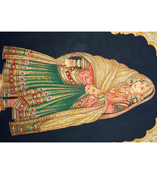 HANDICRAFT ASSORTED RANI FINE QUALITY  ON  PAPER 8X12 INCH