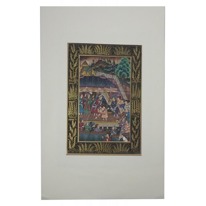 Handicraft Assorted Mughal Miniature painting