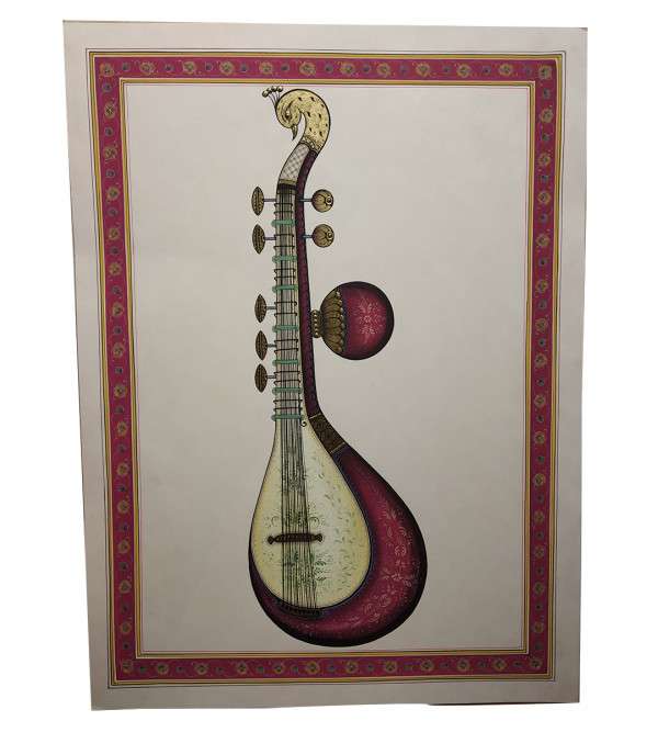 Musical Instrument Handmade Painting