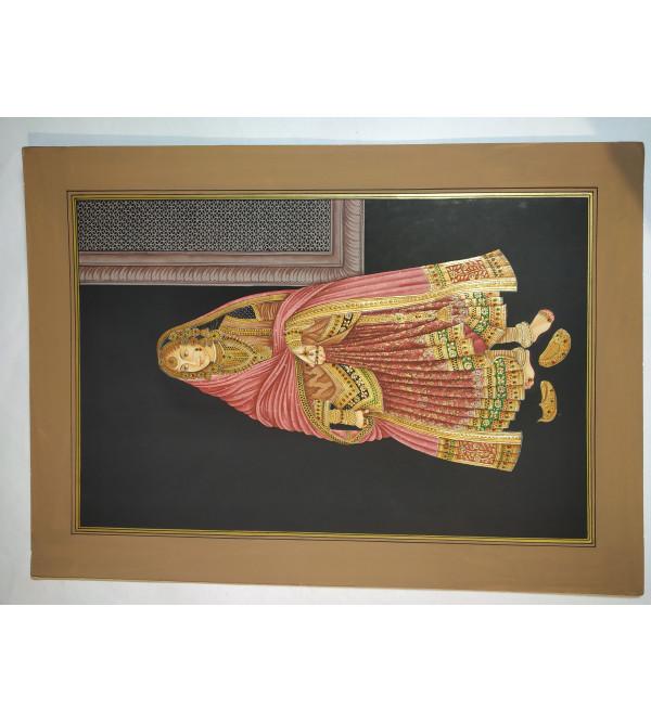 Traditional Rani Handmade Painting