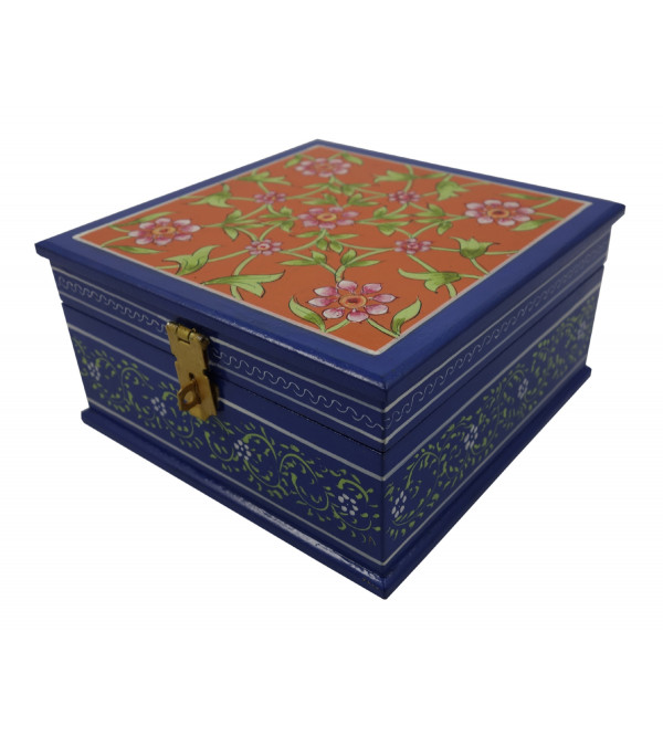 Painted BOX JAIPUR STYLE PLY 6x6x3 inch
