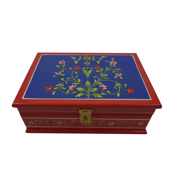 Painted BOX JAIPUR STYLE PLY 7x5x2.5 inch