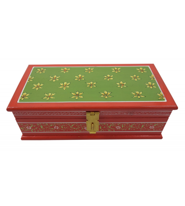 Painted BOX JAIPUR STYLE PLY 8x4x2.5 inch
