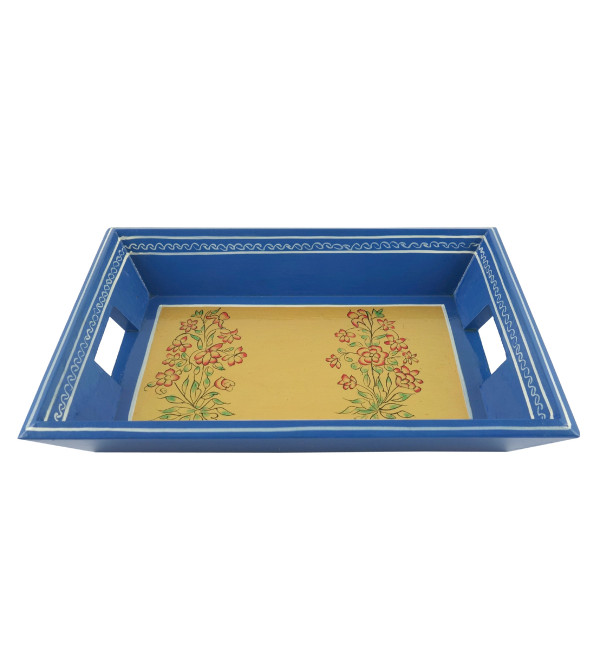 PAINTED TRAY JAIPUR STYLE PLY 9x6 INCH